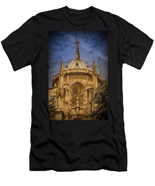 Paris, France - Notre-dame De Paris - Apse Men's T-Shirt (Athletic Fit)