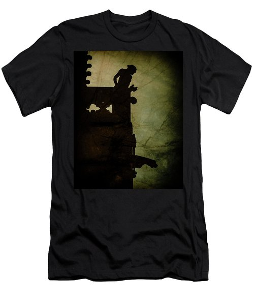 Paris, France - Gargoyle Watch Men's T-Shirt (Athletic Fit)