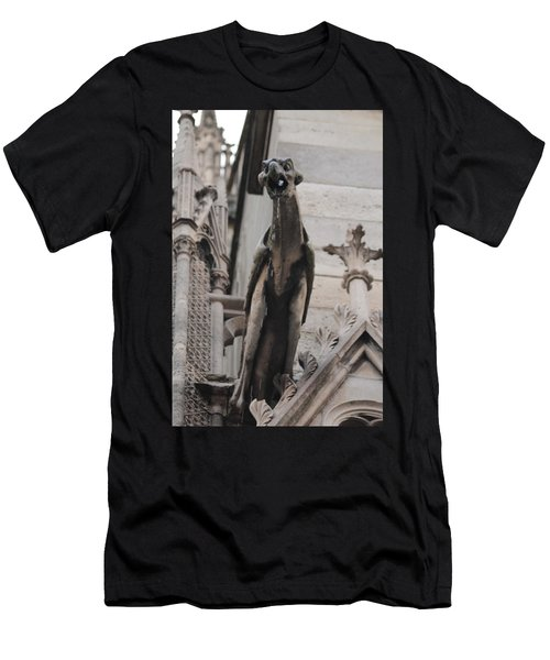 Rain Spouting Gargoyle. Men's T-Shirt (Athletic Fit)