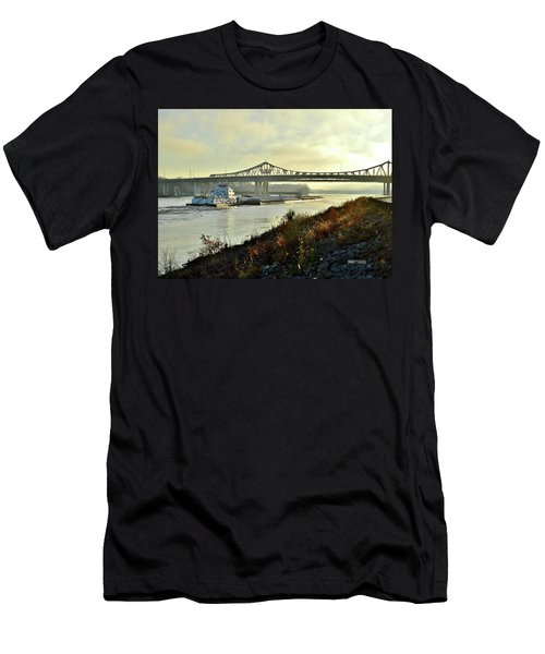 November Barge Men's T-Shirt (Athletic Fit)