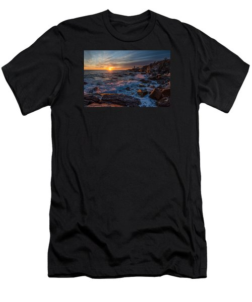 Men's T-Shirt (Slim Fit) featuring the photograph November Morning by Paul Noble