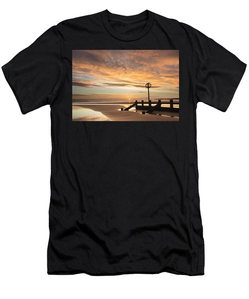 November Sunrise Men's T-Shirt (Athletic Fit)