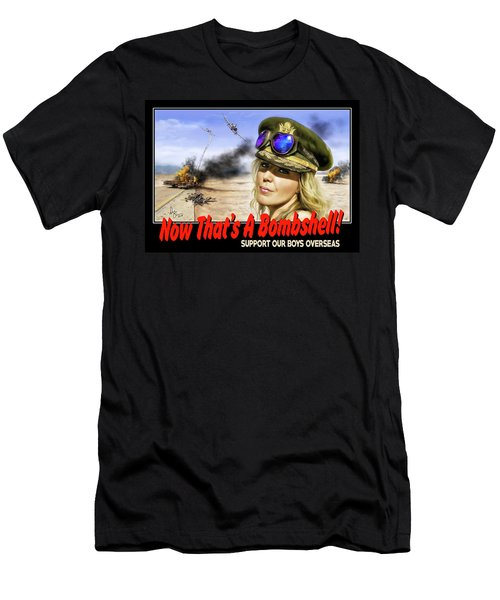 Now Thats A Bombshell Men's T-Shirt (Athletic Fit)