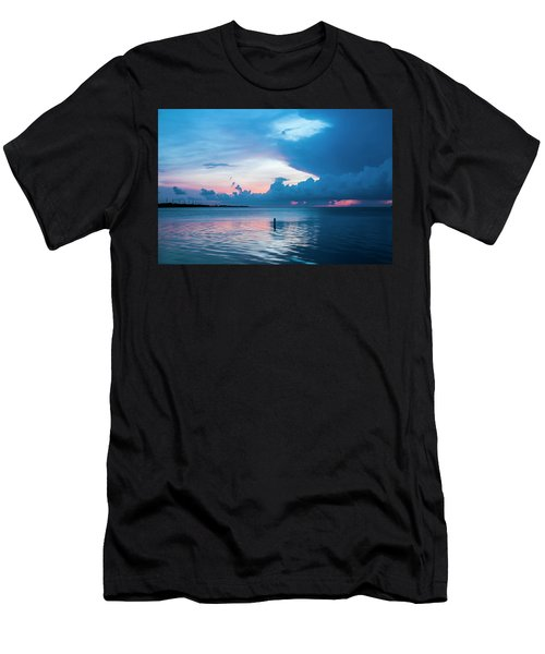 Now The Day Is Over Men's T-Shirt (Athletic Fit)