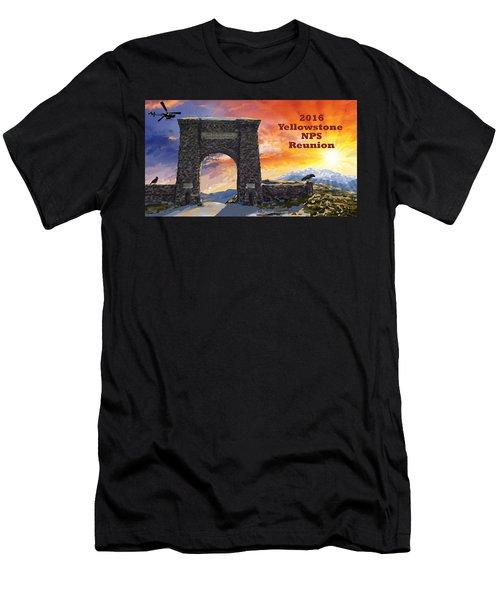 Nps Reunion Men's T-Shirt (Athletic Fit)