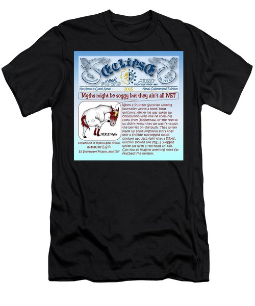Real Fake News By Esp Men's T-Shirt (Athletic Fit)