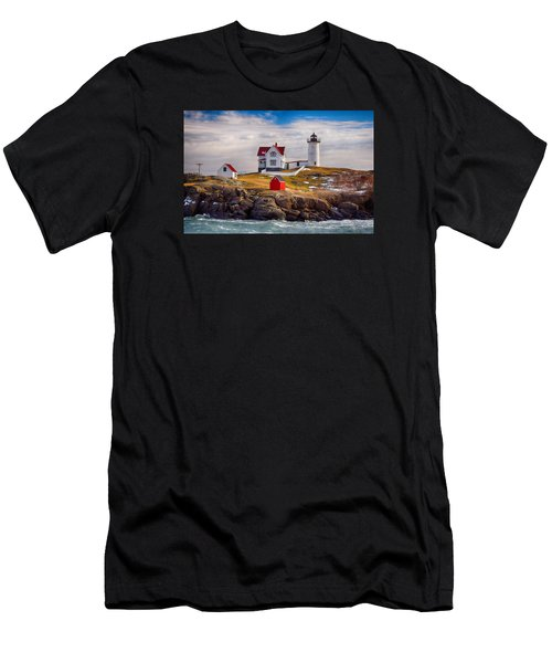 Nubble In Winter Men's T-Shirt (Athletic Fit)