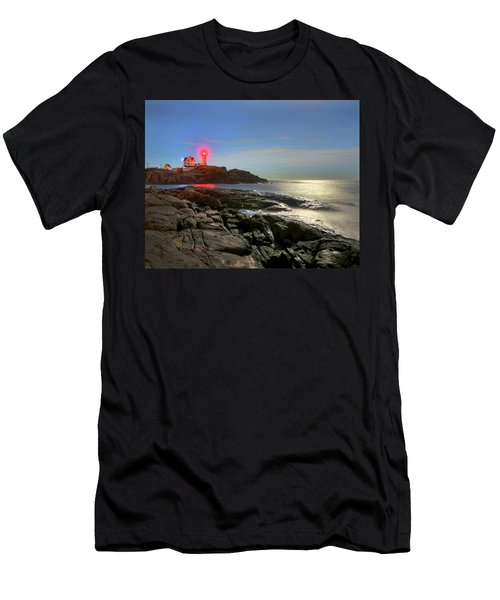 Nubble Light 457 Men's T-Shirt (Athletic Fit)
