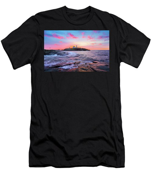 Nubble Sunrise Surprise Men's T-Shirt (Athletic Fit)