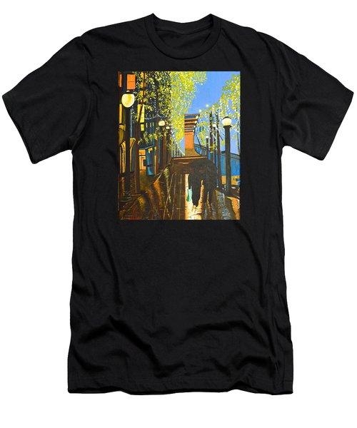 Nuit De Pluie Men's T-Shirt (Athletic Fit)