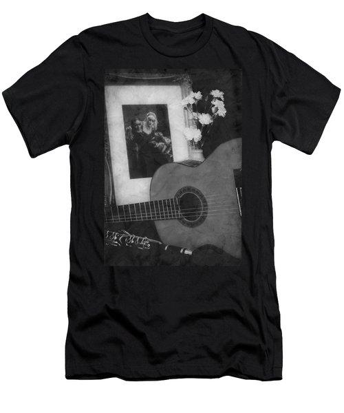 Number 2 Men's T-Shirt (Slim Fit) by Elf Evans