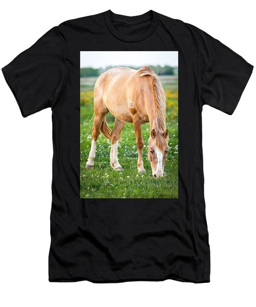 Men's T-Shirt (Athletic Fit) featuring the photograph Number 403 by Melinda Ledsome