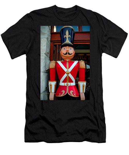 Men's T-Shirt (Slim Fit) featuring the photograph Nutcracker Protector by LeeAnn McLaneGoetz McLaneGoetzStudioLLCcom