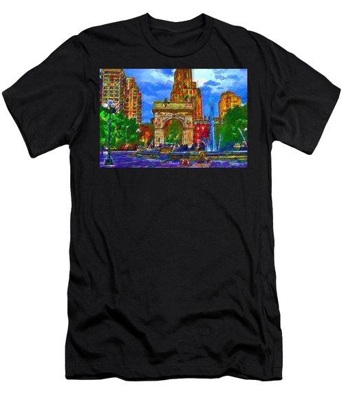 NYU Men's T-Shirt (Athletic Fit)