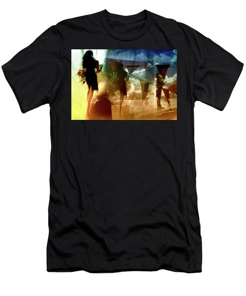 O How Much More Doth Beauty Beauteous Seem Men's T-Shirt (Athletic Fit)