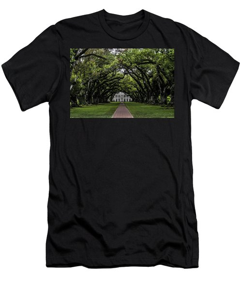Oak Alley Plantation, Vacherie, Louisiana Men's T-Shirt (Athletic Fit)