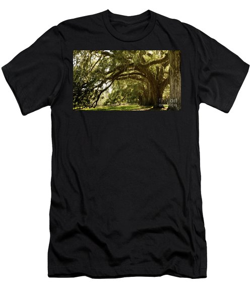 Oak And Moss Men's T-Shirt (Athletic Fit)