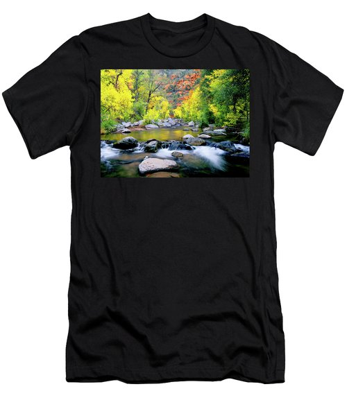 Oak Creek Canyon Men's T-Shirt (Athletic Fit)