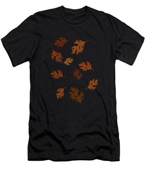 Oak Leaves Art Men's T-Shirt (Athletic Fit)