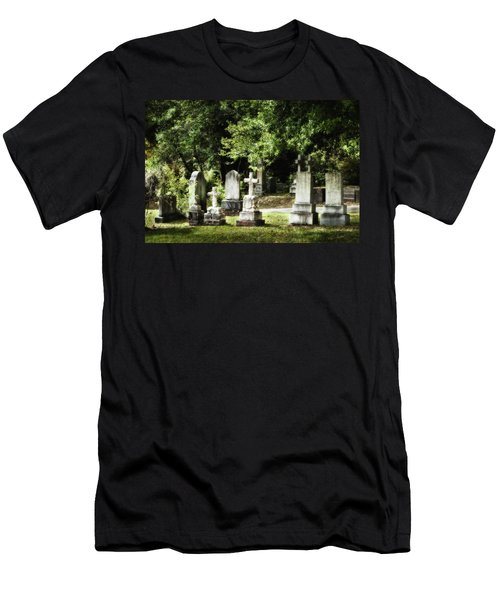 Oakdale Cemetery Men's T-Shirt (Athletic Fit)