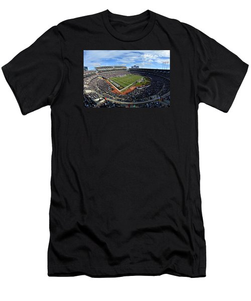 Oakland Raiders O.co Coliseum Men's T-Shirt (Athletic Fit)