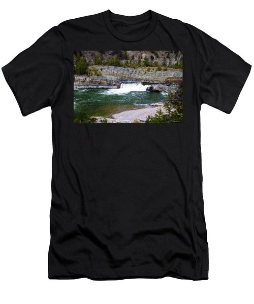 Oasis Of Serenity Men's T-Shirt (Athletic Fit)