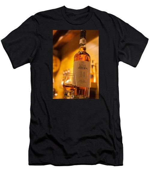 Oban Whisky Men's T-Shirt (Athletic Fit)