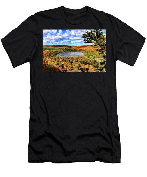 Oberg Lake Men's T-Shirt (Athletic Fit)