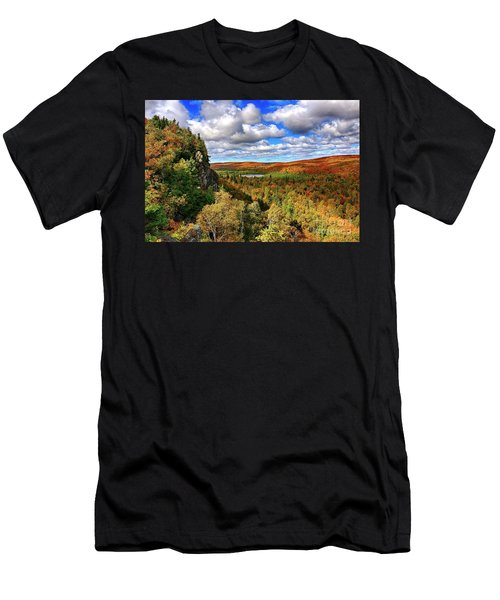 Oberg Lake Lookout Men's T-Shirt (Athletic Fit)