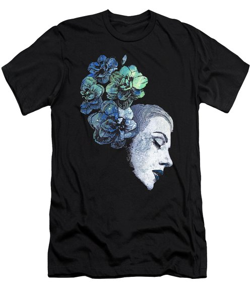 Obey Me - Blue Men's T-Shirt (Athletic Fit)