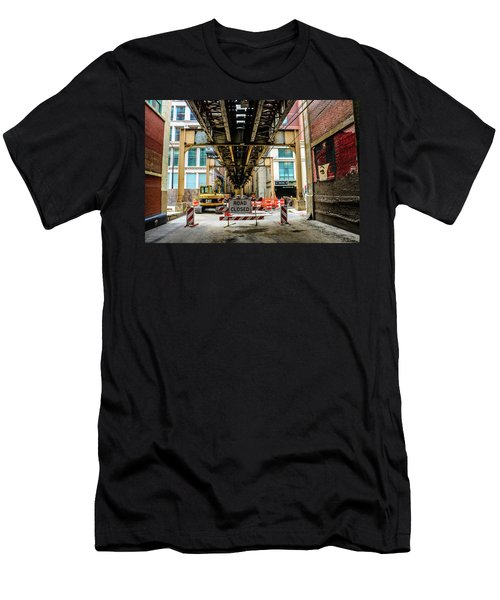 Obey The Signs Men's T-Shirt (Athletic Fit)