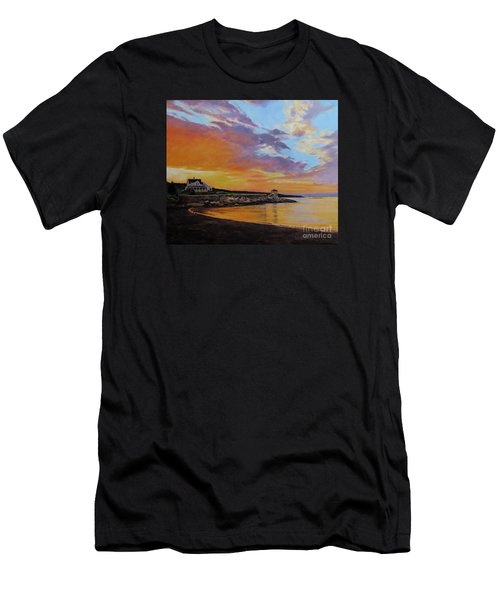 Observatory Point, Rockport, Ma Men's T-Shirt (Athletic Fit)