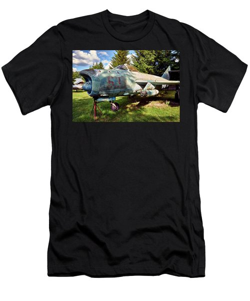 Men's T-Shirt (Athletic Fit) featuring the photograph Obsolete by Tgchan