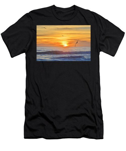 Coquina Beach Men's T-Shirt (Athletic Fit)