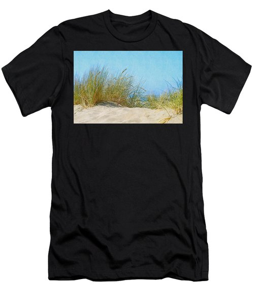 Ocean Beach Dunes Men's T-Shirt (Athletic Fit)