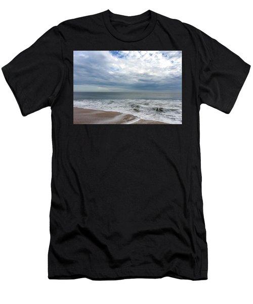 Ocean Blue Men's T-Shirt (Athletic Fit)