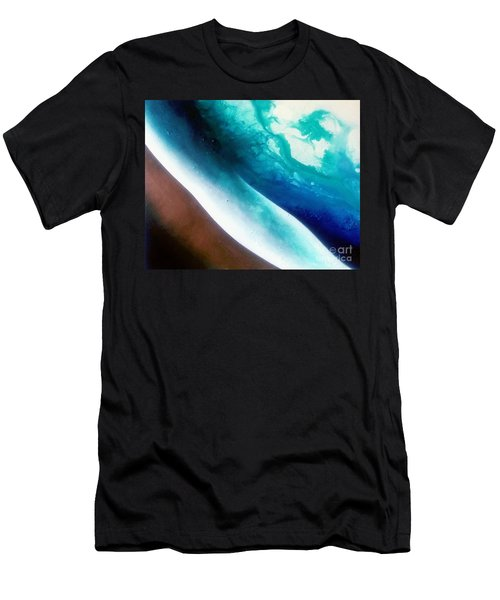 Crystal Wave Men's T-Shirt (Athletic Fit)