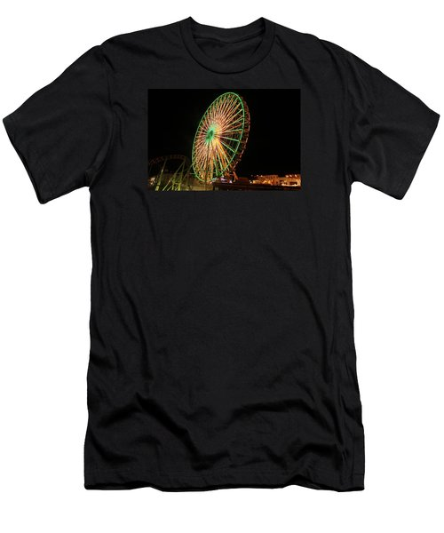 Ocean City Ferris Wheel3 Men's T-Shirt (Athletic Fit)