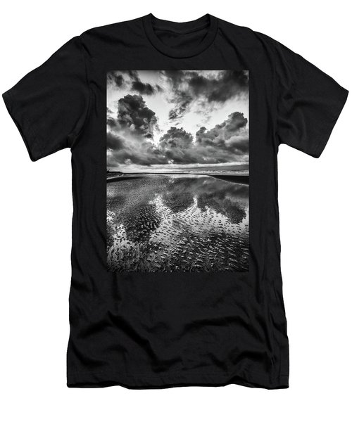 Ocean Clouds Reflection Men's T-Shirt (Athletic Fit)