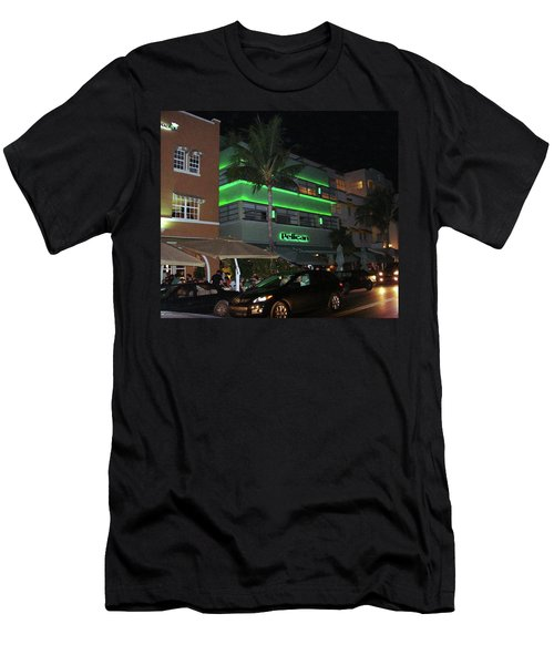 Ocean Drive Miami Beach Men's T-Shirt (Athletic Fit)