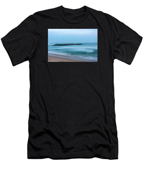 Ocean Flow Men's T-Shirt (Athletic Fit)