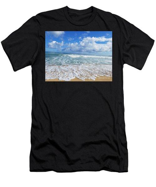 Ocean Foam Men's T-Shirt (Athletic Fit)