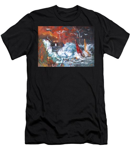 Ocean Fury Men's T-Shirt (Athletic Fit)