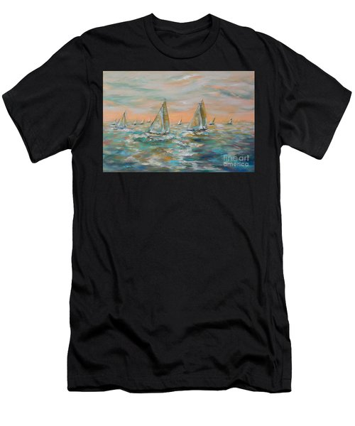 Ocean Regatta Men's T-Shirt (Athletic Fit)