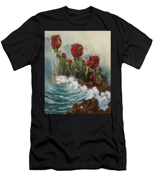 Ocean Rose Men's T-Shirt (Athletic Fit)