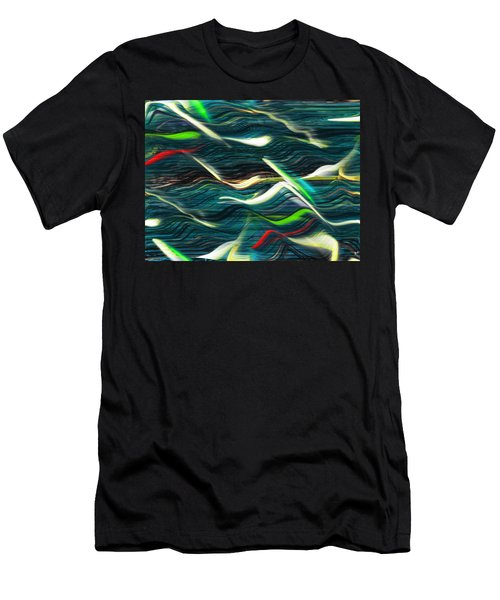 Ocean Run 2 Men's T-Shirt (Athletic Fit)