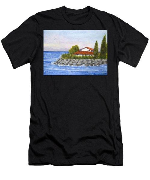 Ocean Scene  Men's T-Shirt (Athletic Fit)