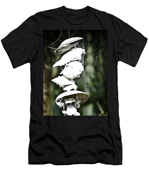 Men's T-Shirt (Slim Fit) featuring the photograph Ocean Shells Composition by Yurix Sardinelly