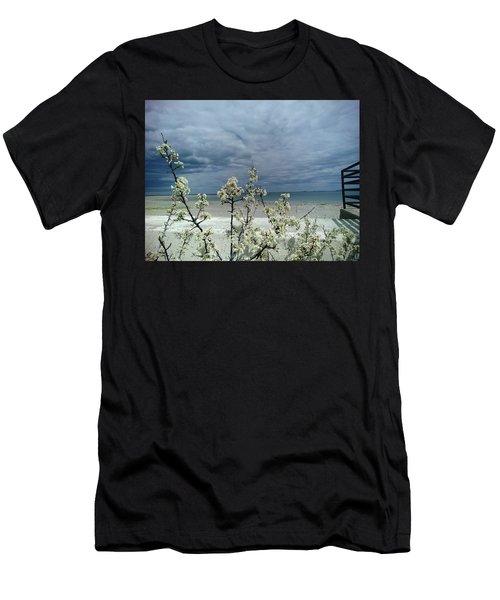 Ocean Spring Men's T-Shirt (Athletic Fit)