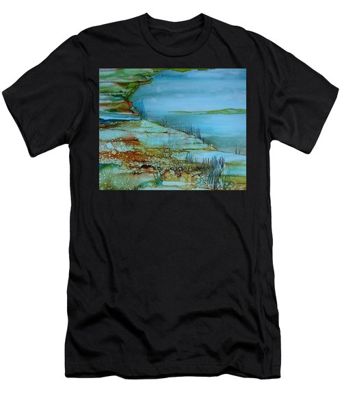 Ocean View Men's T-Shirt (Athletic Fit)